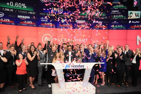 Nasdaq Welcomes Pluralsight Inc. to The Nasdaq Stock Market