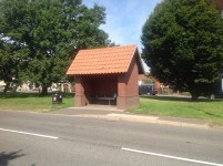 New bus shelter Repps Road