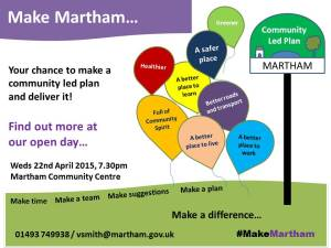 Community Led Plan | Martham Parish Council, Norfolk