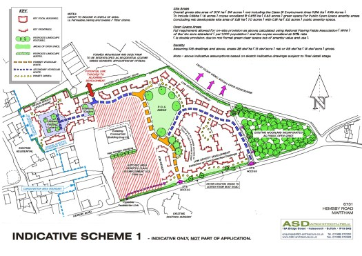 6731 Martham Indicative SCHEME 1 dated 050216