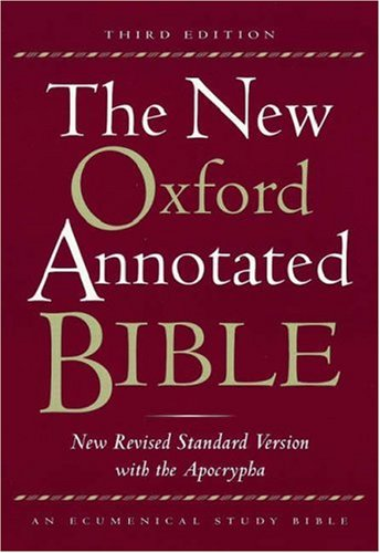 New Oxford Annotated Study Bible
