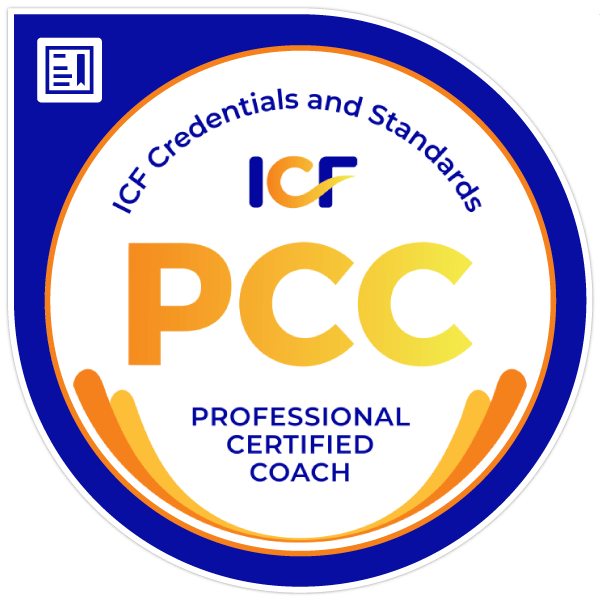 Professional Certified Coach badge