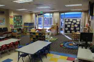 MVK PreSchool Classroom and Student
