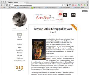 Martha Sweeney on Booklikes