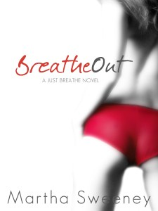 Breathe Out by Martha Sweeney book cover iPad mini wallpaper