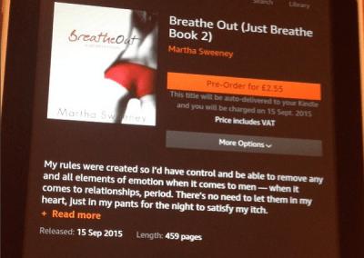 ebook Breathe Out by Martha Sweeney