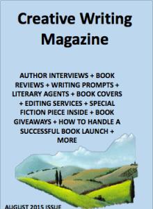 Creative Writing Magazine featuring Author Martha Sweeney