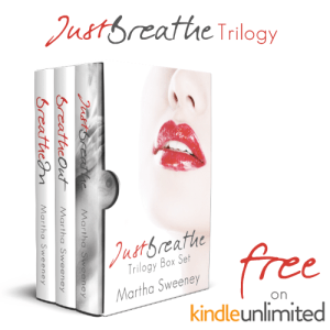 Just Breathe series by Martha Sweeney Free on Amazon Kindle Unlimited