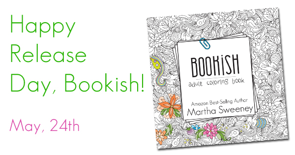 Bookish: Adult Coloring Book Release Day