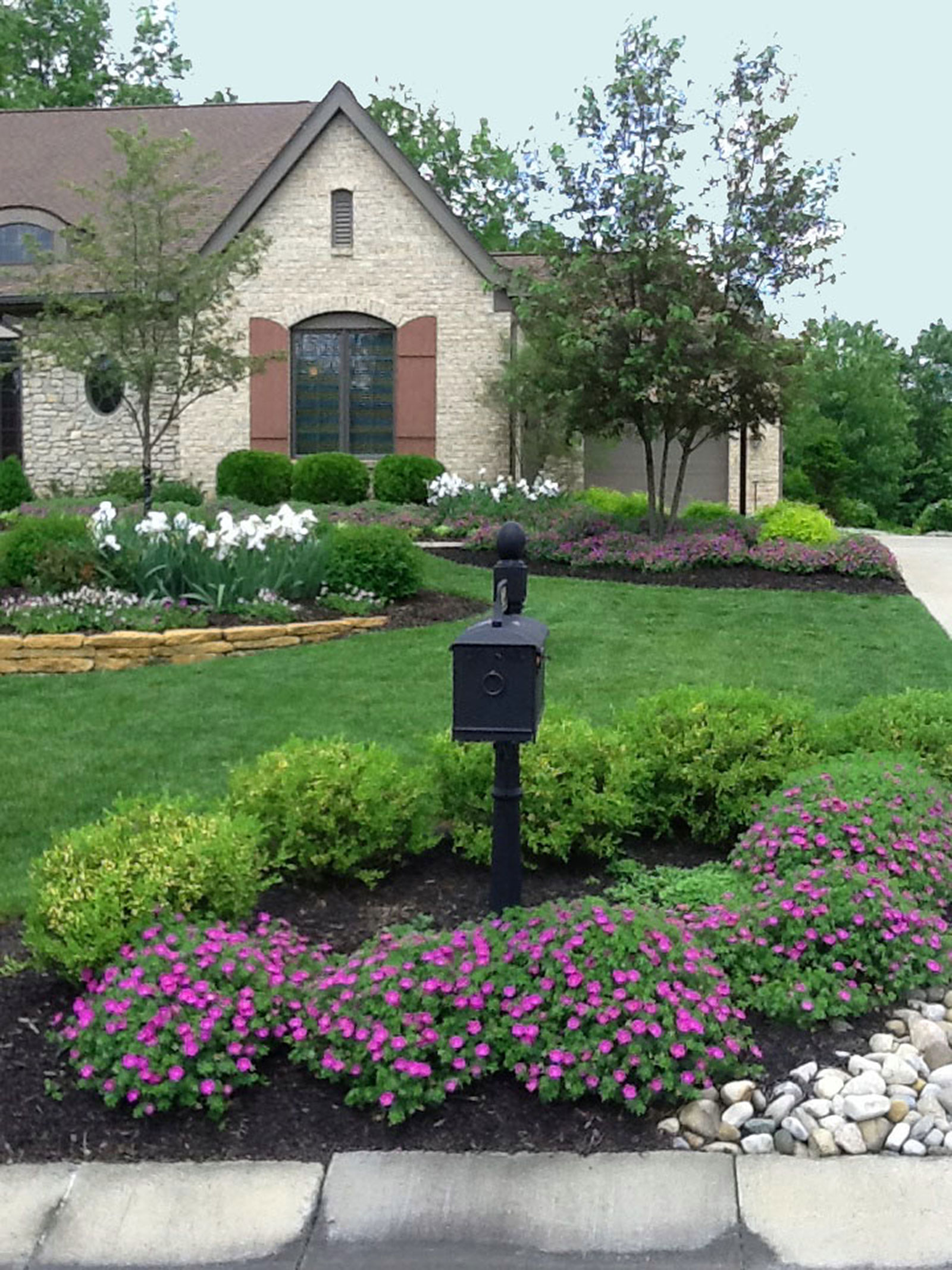 New Construction in Anderson Township  Project Spotlights  Martha Wassermann  Landscape Design