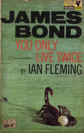 You only like twice, by Ian Fleming