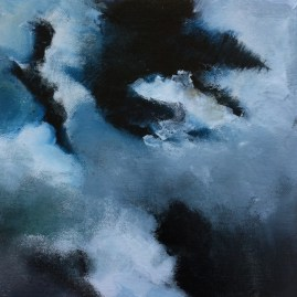 51_Triptych - Storm clouds outside Torrington, Alberta II