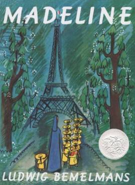 "Who can forget ""Madeline"" by Ludwig Bemelmans? I read his very funny short stories as an adult."
