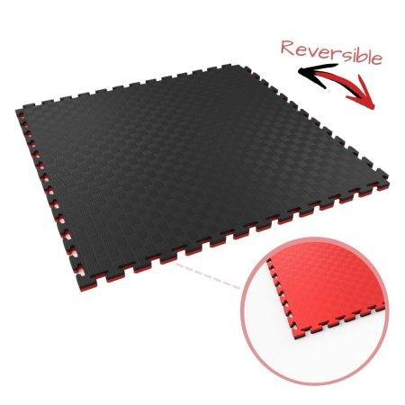 20mm red/black essential tatami jigsaw mat
