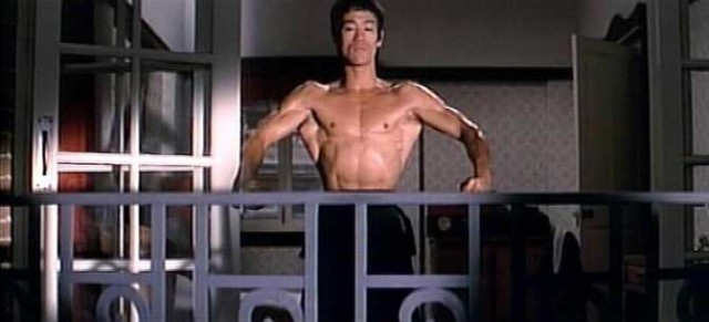 Bruce Lee, Front Lat Spread