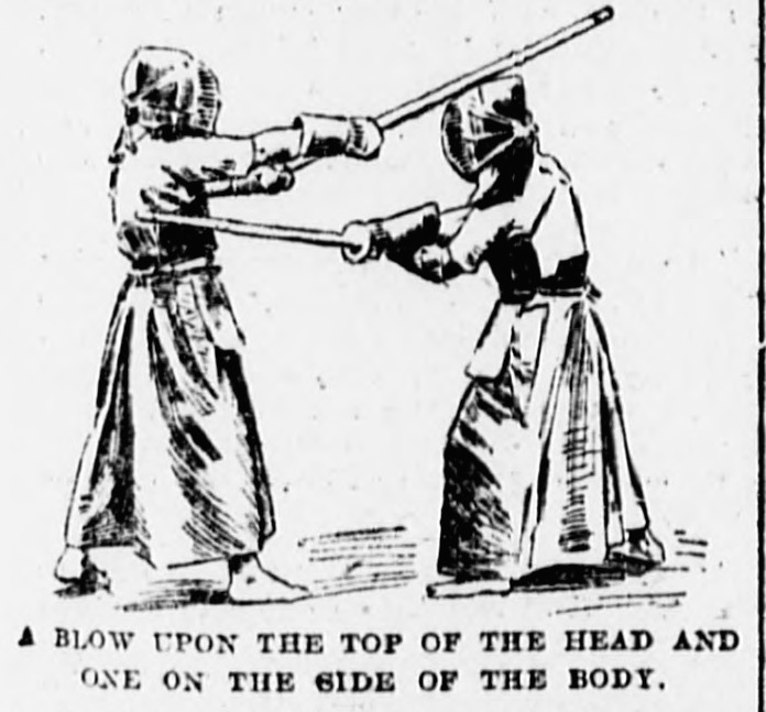 Japanese Sword Technique in the New York Sun, 1904