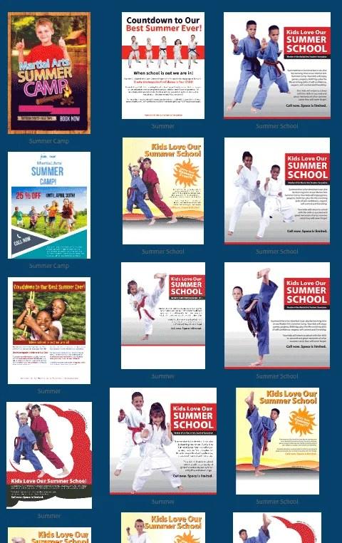 summer marketing for martial arts schools