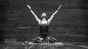 Marti Ewing teaches yoga in Houston