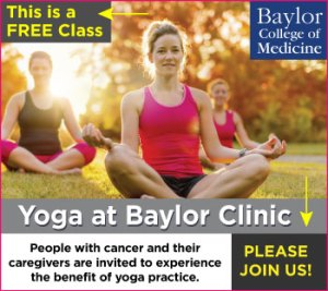 Free Yoga Classes with Marti Ewing at Baylor