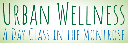 Urban Wellness- A class in the Montrose with Marti Ewing Yoga