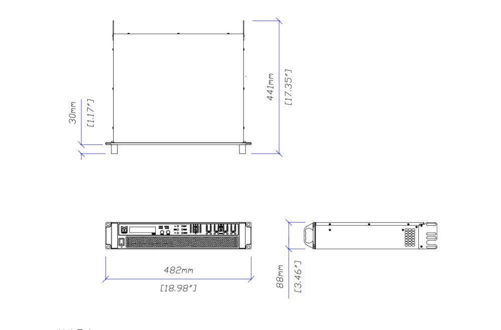 medium resolution of martin audio ik81 tech drawing ikon