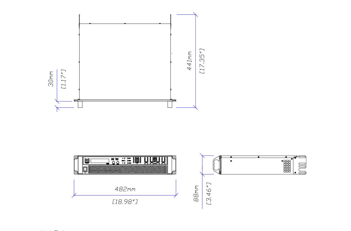 hight resolution of martin audio ik81 tech drawing ikon