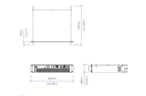 small resolution of martin audio ik81 tech drawing ikon