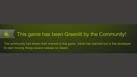Steam Greenlit