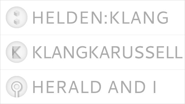 Klangkarussell Logo Designs