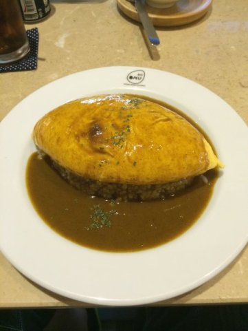 Omurice Curry