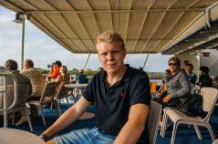 Magnus at the sundeck