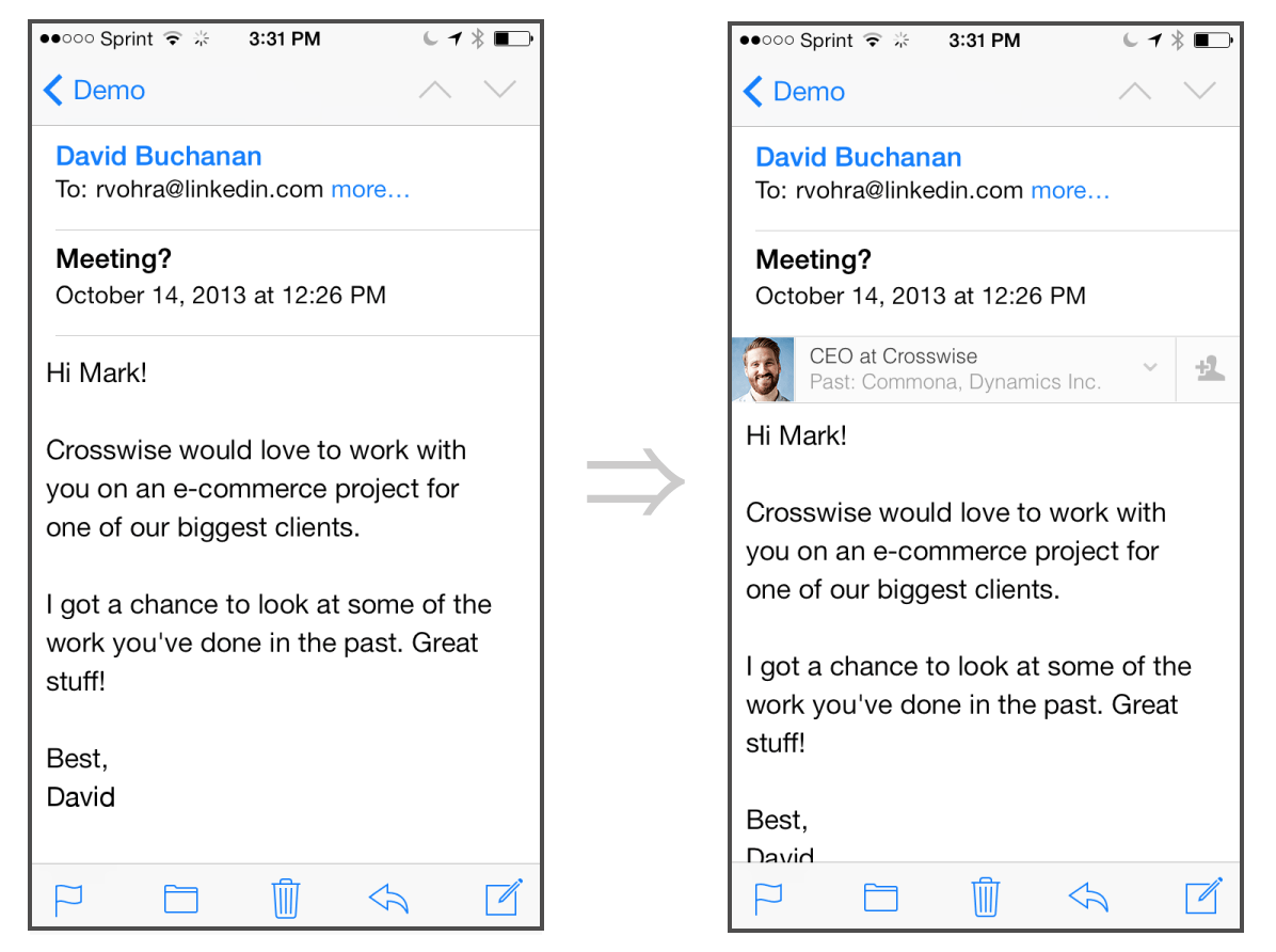 Hyperlink Email In Resume Linkedin Intro Doing The Impossible On Ios Martin