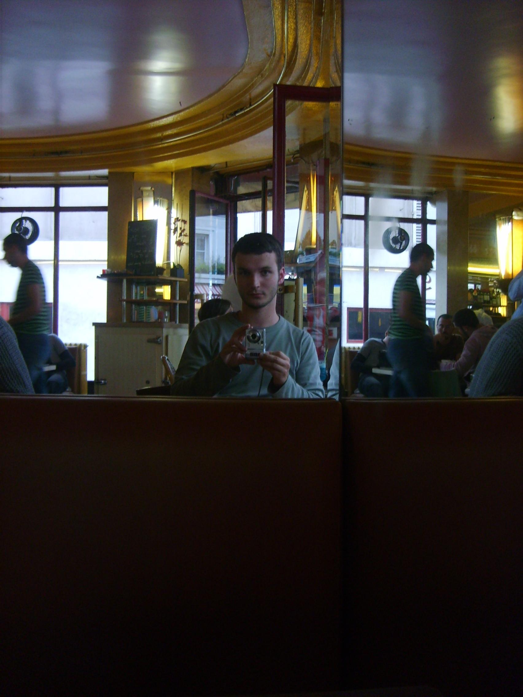 På Café des Deux Moulins