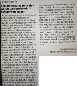 Leserbrief_Schlaraffenland