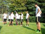 kaka first training milanello (7)