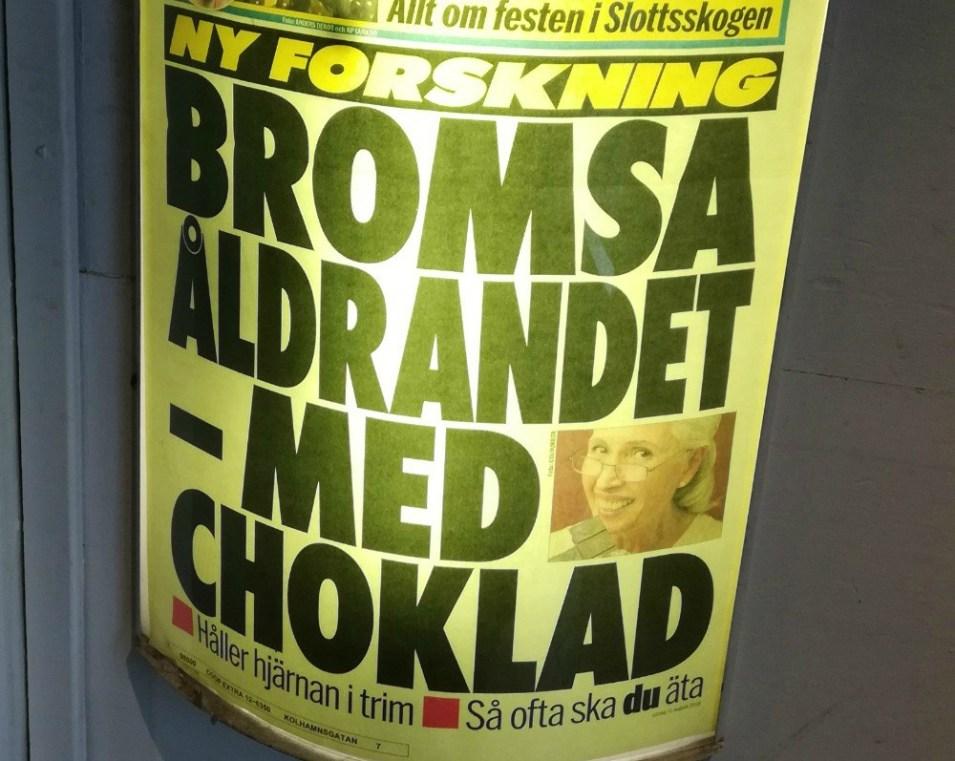 mörk choklad och antioxidanter