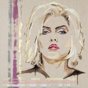 Atomic! Debbie Harrry of Blondie Art Painting