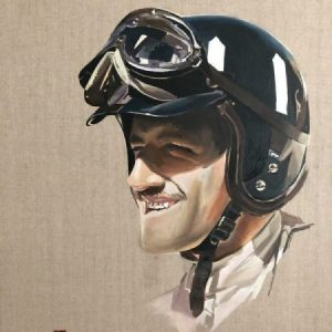78th GGentleman Driver Graham Hill Fine art Lotus 49