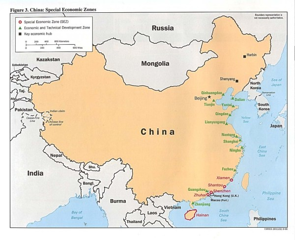 Relative Location China