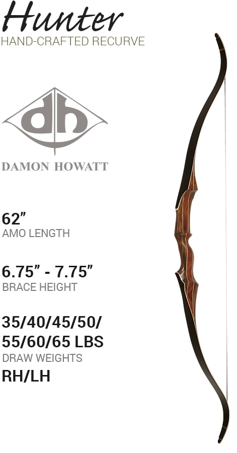 Damon Howatt Traditional Bows