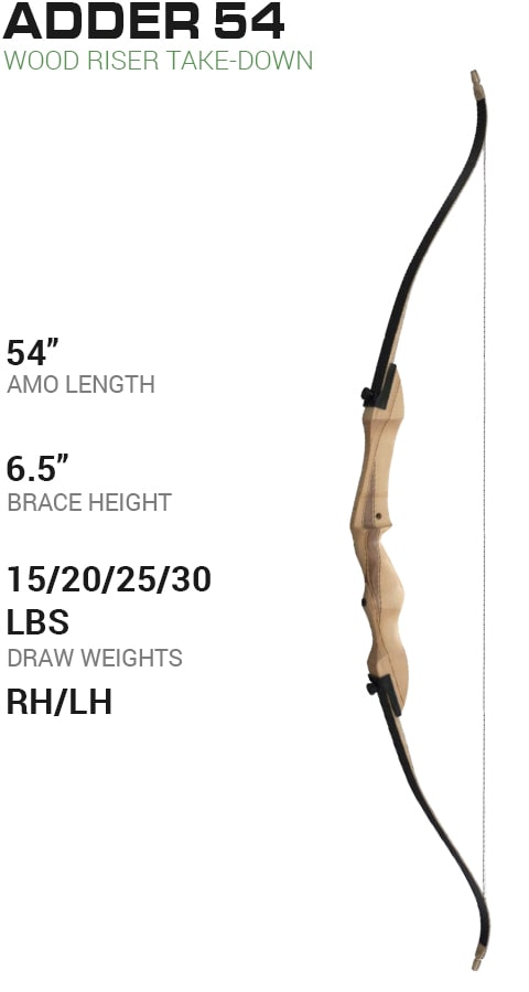 Martin Archery Jaguar Elite Recurve Take-Down Bow