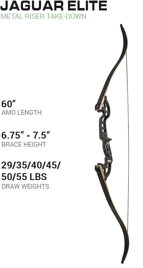 Martin Archery Panther Recurve Take-Down Bow