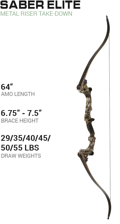 Martin Archery Panther Recurve Take-Down Bow