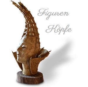 Galerie-Kopf-Figuren