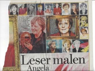 Bildzeitung - Leser malen Angela Merkel
