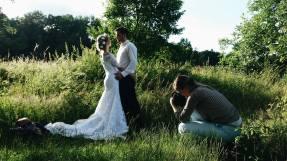 Zákulisí svatebního focení