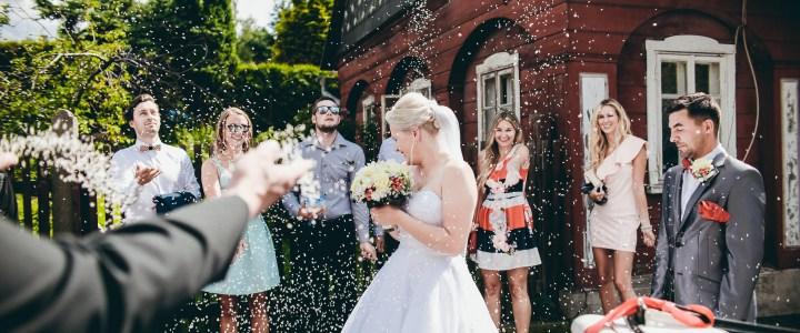 FOTOGALERIE: Svatba Verči a Tomáše