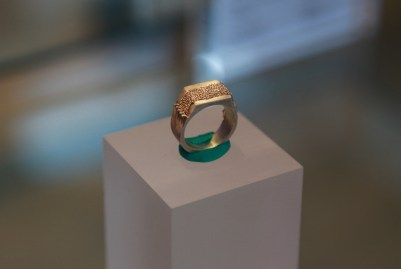 Ring. SIlver, EEG wire. Pic by Pieter Kunnen