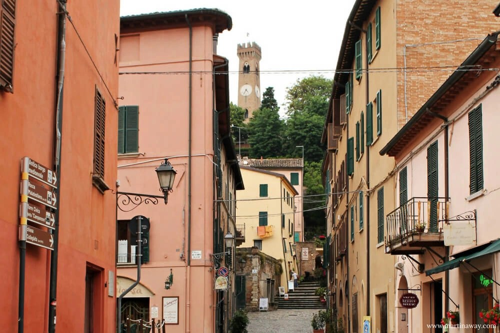 Santarcangelo di Romagna cosa vedere un passo alla volta