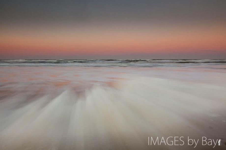 sunrise at Blokhus beach